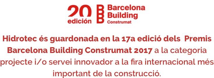Del 23 al 26 de Maig, Hidrotec estarà present a Barcelona Building Construmat