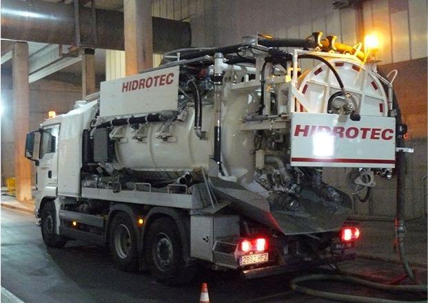 Camions de neteja hidrodinàmica