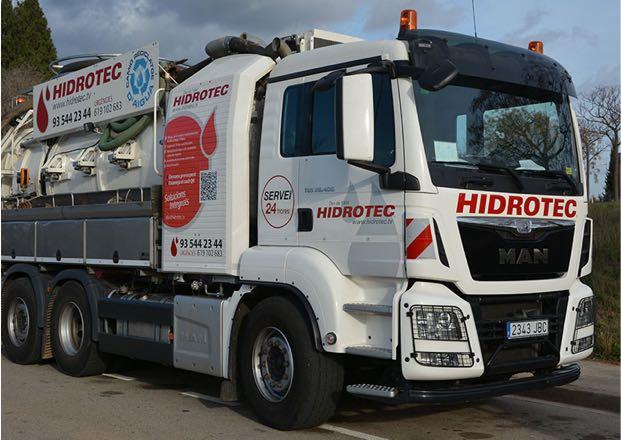 Camions de reciclatge d'aigua