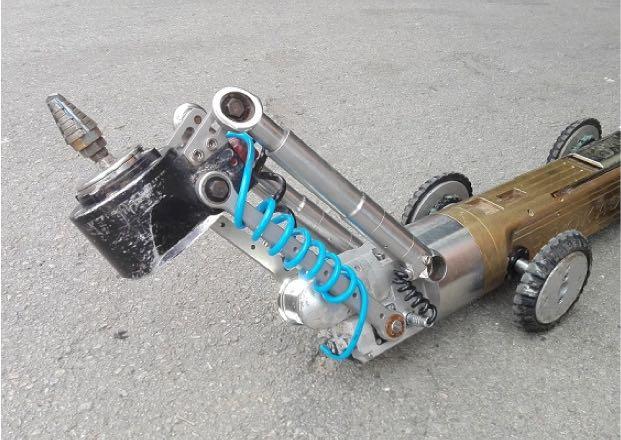 Robot fresador elèctric